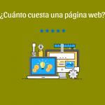 Cuánto cuesta una página web