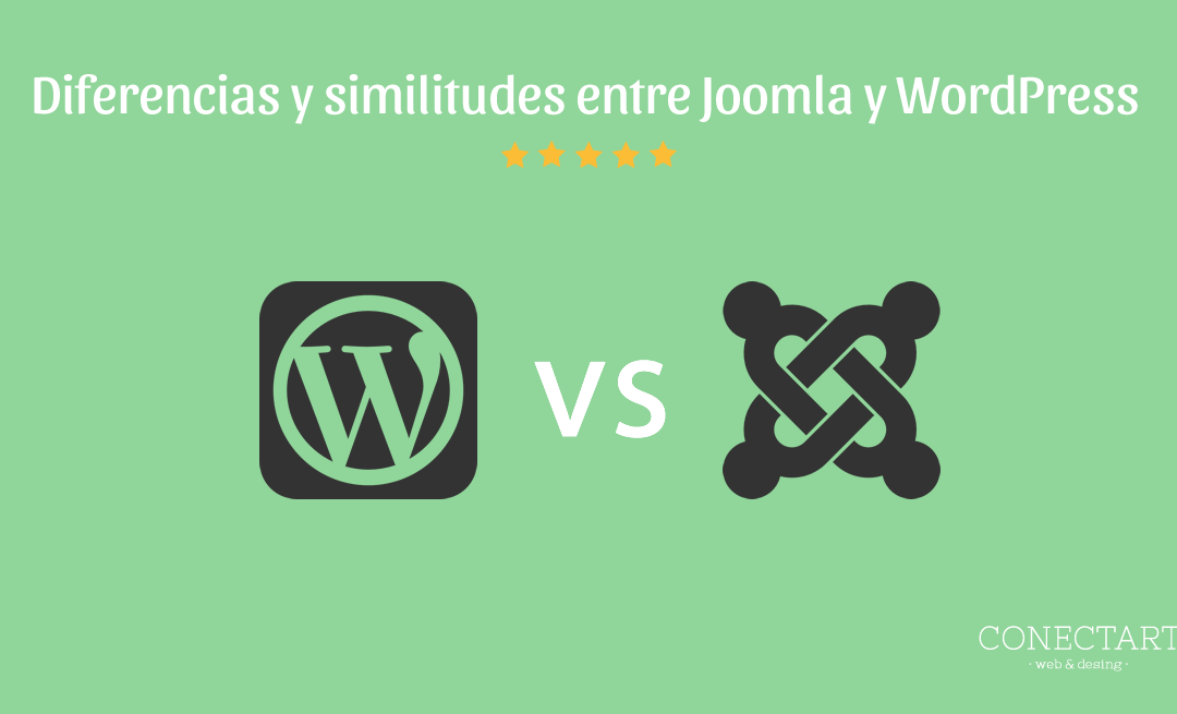 Diferencias y similitudes entre Joomla y WordPress
