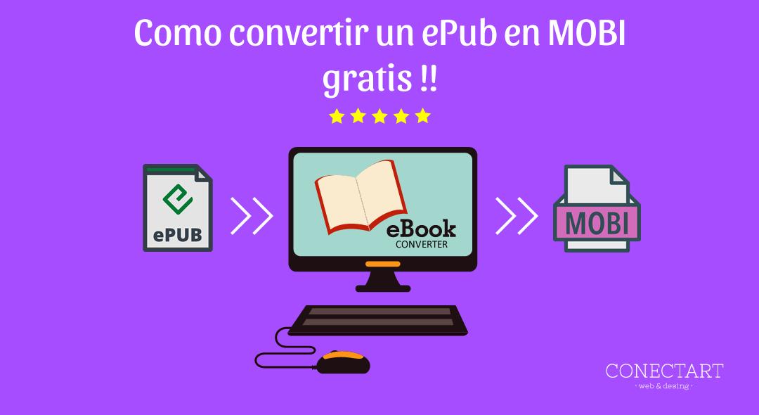 Cómo convertir ePub a MOBI