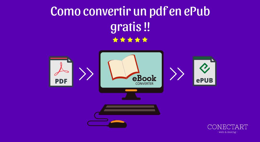 como convertir pdf a ePub